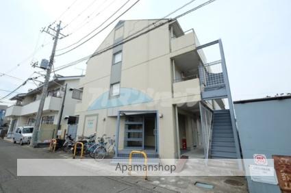 埼玉県坂戸市、坂戸駅徒歩5分の築28年 3階建の賃貸マンション