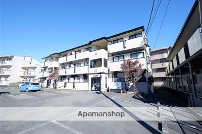 埼玉県鶴ヶ島市、鶴ヶ島駅徒歩8分の築18年 3階建の賃貸アパート