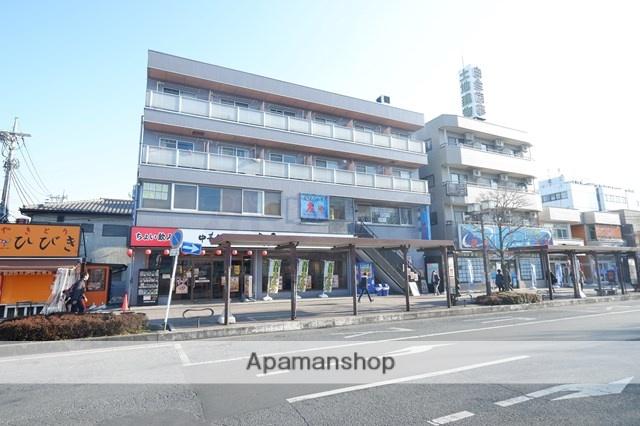 埼玉県川越市、鶴ヶ島駅徒歩1分の築24年 4階建の賃貸マンション