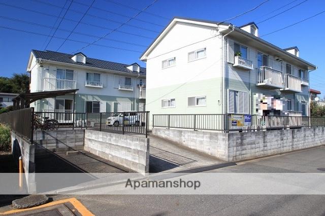 埼玉県川越市、笠幡駅徒歩30分の築23年 2階建の賃貸アパート
