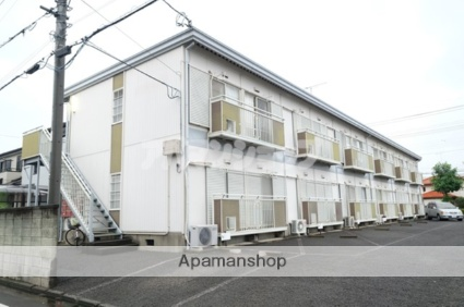 埼玉県鶴ヶ島市、若葉駅徒歩10分の築24年 2階建の賃貸アパート