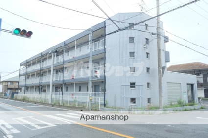 埼玉県鶴ヶ島市、坂戸駅徒歩17分の築24年 3階建の賃貸マンション