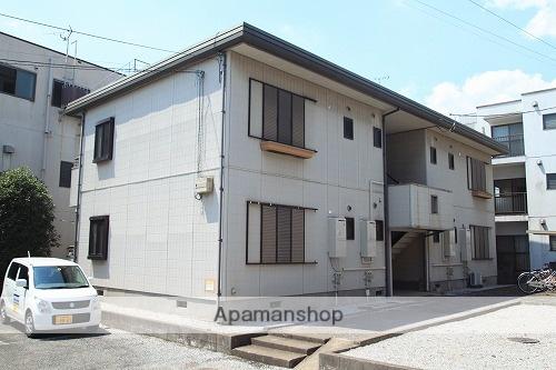 埼玉県川越市、笠幡駅徒歩3分の築25年 2階建の賃貸アパート