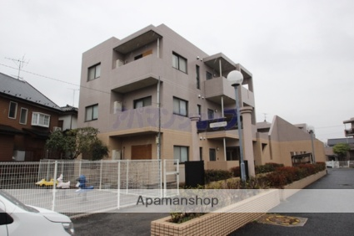 埼玉県川越市、的場駅徒歩18分の築21年 3階建の賃貸マンション