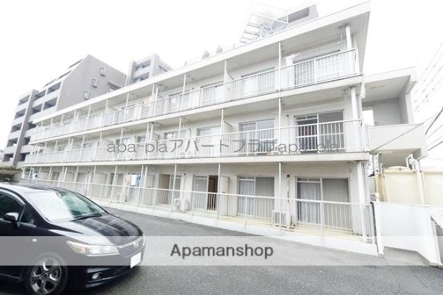 埼玉県川越市、川越駅徒歩10分の築30年 3階建の賃貸マンション