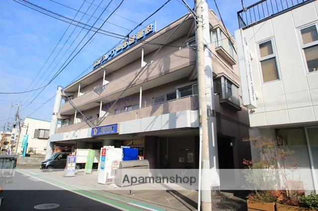 埼玉県川越市、鶴ヶ島駅徒歩1分の築24年 3階建の賃貸マンション