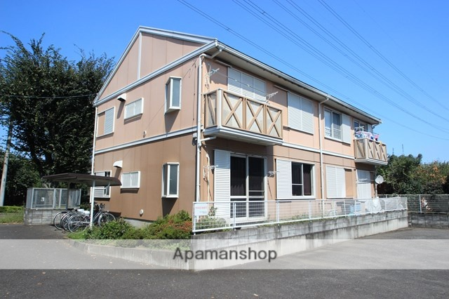 埼玉県川越市、鶴ヶ島駅徒歩27分の築24年 2階建の賃貸アパート