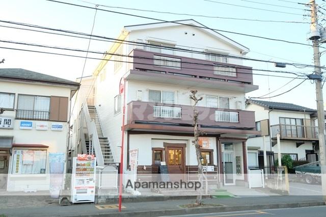 埼玉県鶴ヶ島市、鶴ヶ島駅徒歩24分の築25年 3階建の賃貸アパート