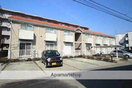 埼玉県川越市、鶴ヶ島駅徒歩3分の築10年 2階建の賃貸アパート