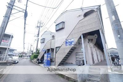 埼玉県川越市、的場駅徒歩18分の築25年 2階建の賃貸アパート
