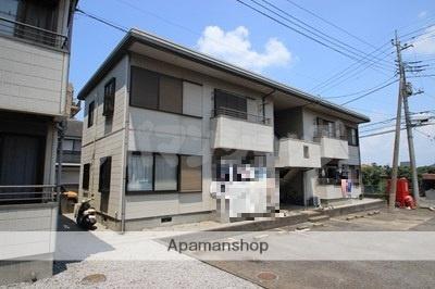 埼玉県川越市、笠幡駅徒歩5分の築25年 2階建の賃貸アパート