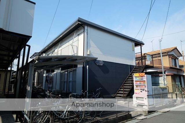 埼玉県川越市、西川越駅徒歩25分の築28年 2階建の賃貸アパート
