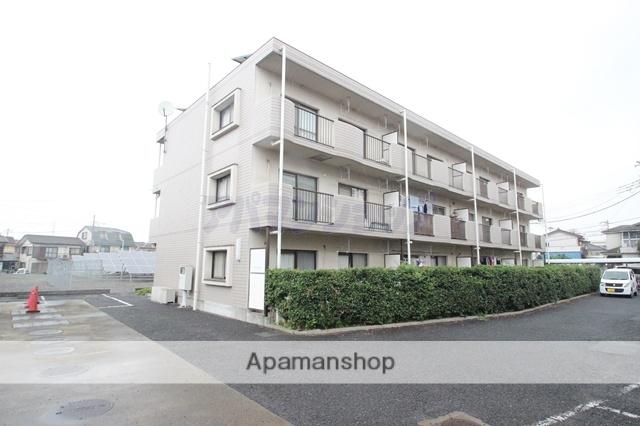 埼玉県鶴ヶ島市、坂戸駅徒歩30分の築21年 3階建の賃貸マンション