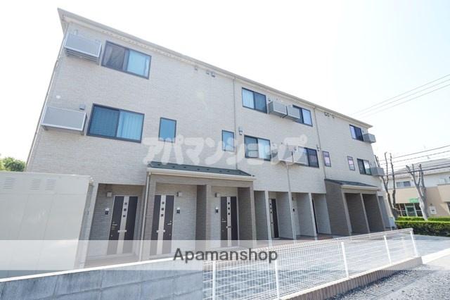 埼玉県川越市、鶴ヶ島駅徒歩6分の築1年 3階建の賃貸アパート
