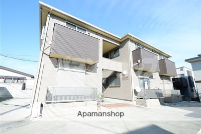 埼玉県川越市、的場駅徒歩25分の築1年 2階建の賃貸アパート