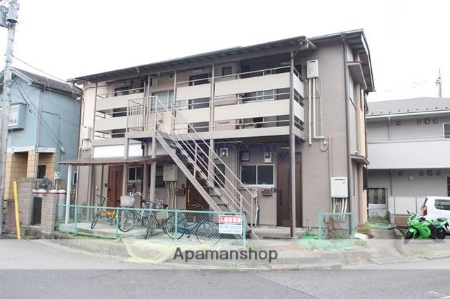 埼玉県川越市、西川越駅徒歩18分の築43年 2階建の賃貸アパート