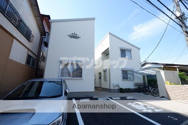 埼玉県川越市、鶴ヶ島駅徒歩15分の新築 2階建の賃貸アパート