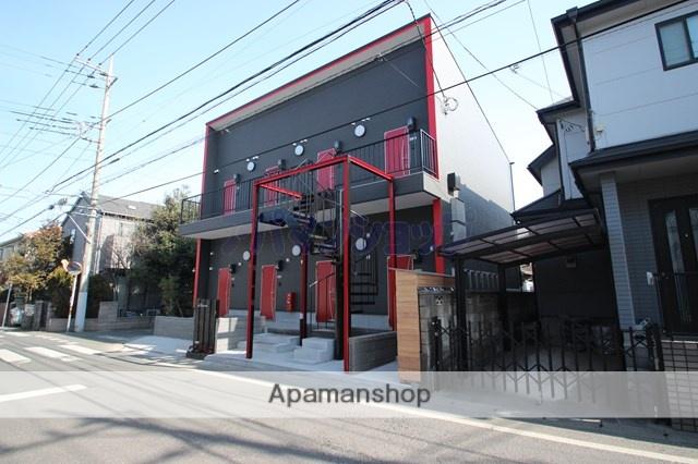 埼玉県川越市、的場駅徒歩15分の新築 2階建の賃貸アパート