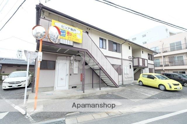 埼玉県坂戸市、若葉駅徒歩12分の築23年 2階建の賃貸アパート