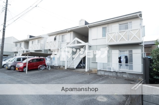 埼玉県坂戸市、坂戸駅徒歩9分の築24年 2階建の賃貸アパート