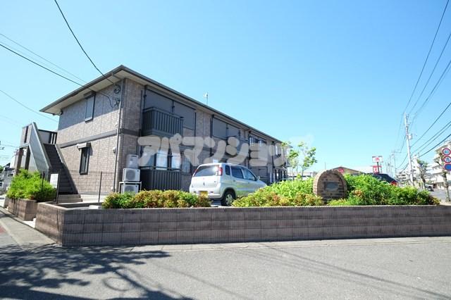 埼玉県坂戸市、坂戸駅徒歩17分の築10年 2階建の賃貸アパート