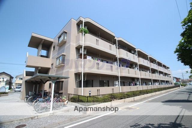 埼玉県坂戸市、北坂戸駅徒歩15分の築22年 3階建の賃貸マンション