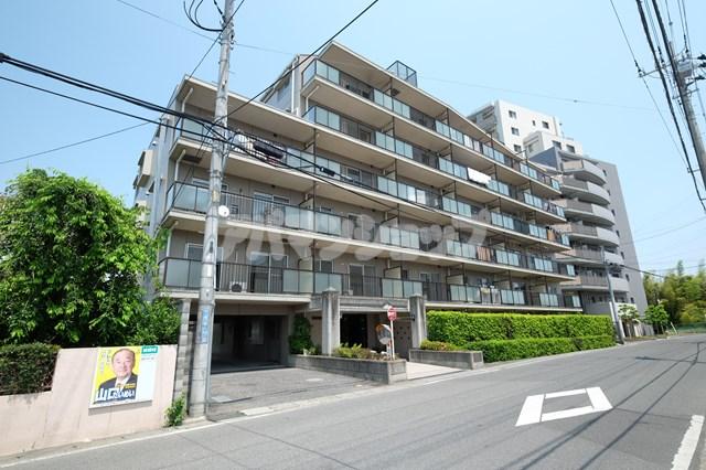 埼玉県坂戸市、若葉駅徒歩22分の築22年 7階建の賃貸マンション