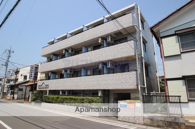 埼玉県坂戸市、北坂戸駅徒歩2分の築25年 4階建の賃貸マンション