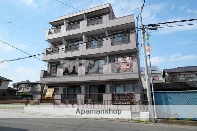 埼玉県坂戸市、若葉駅徒歩21分の築30年 4階建の賃貸マンション