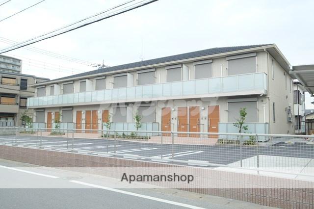 埼玉県坂戸市、若葉駅徒歩21分の新築 2階建の賃貸アパート