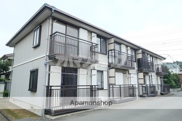 埼玉県坂戸市、坂戸駅徒歩23分の築23年 2階建の賃貸アパート