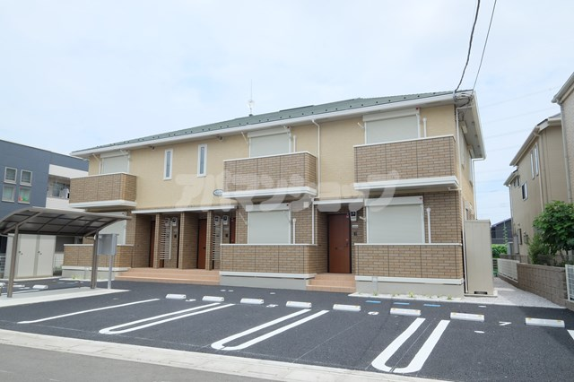埼玉県鶴ヶ島市、一本松駅徒歩5分の新築 2階建の賃貸アパート