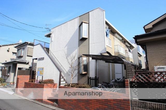 埼玉県川越市、鶴ヶ島駅徒歩8分の築28年 2階建の賃貸アパート