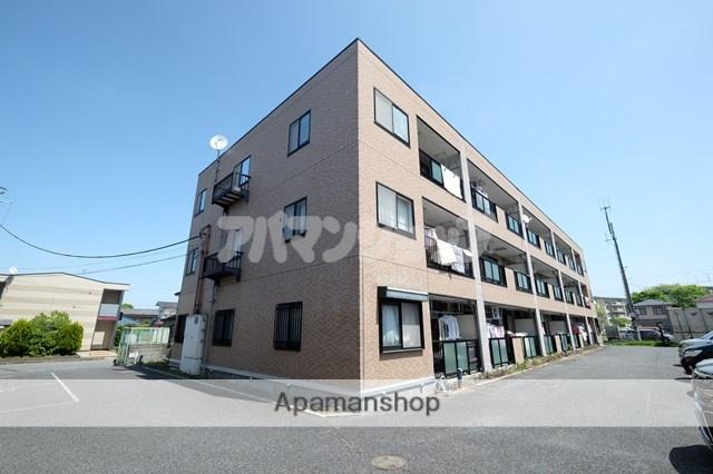 埼玉県坂戸市、北坂戸駅徒歩12分の築17年 3階建の賃貸マンション