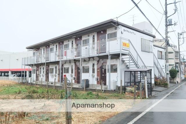 埼玉県坂戸市、若葉駅徒歩22分の築28年 2階建の賃貸アパート