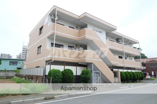 埼玉県坂戸市、若葉駅徒歩29分の築22年 3階建の賃貸マンション