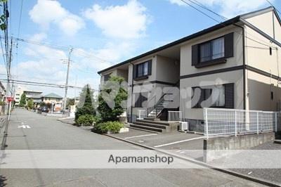 埼玉県川越市、鶴ヶ島駅徒歩25分の築24年 2階建の賃貸アパート
