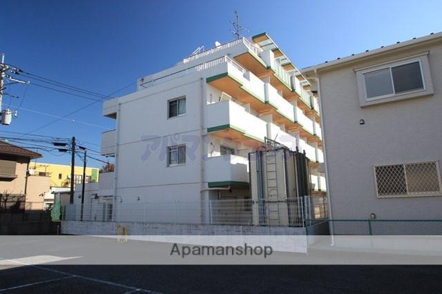埼玉県川越市、鶴ヶ島駅徒歩10分の築28年 5階建の賃貸マンション