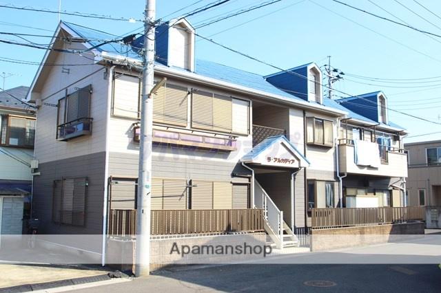 埼玉県川越市、鶴ヶ島駅徒歩11分の築23年 2階建の賃貸アパート