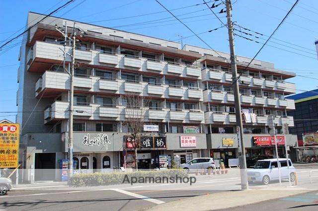 埼玉県坂戸市、若葉駅徒歩16分の築30年 5階建の賃貸マンション