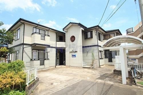 埼玉県鶴ヶ島市、霞ヶ関駅徒歩42分の築23年 2階建の賃貸アパート