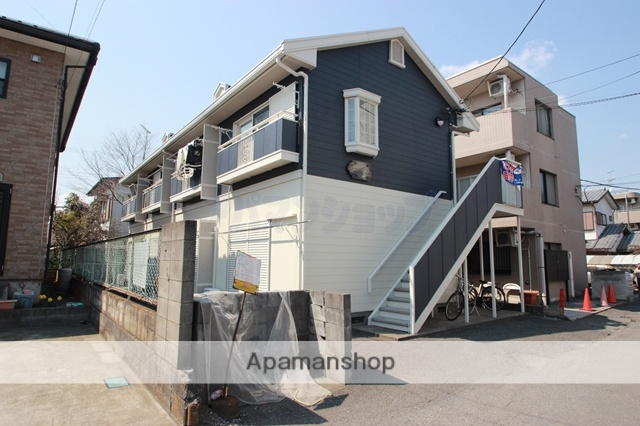 埼玉県川越市、西川越駅徒歩26分の築26年 2階建の賃貸アパート