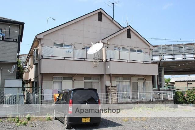 埼玉県川越市、西川越駅徒歩37分の築29年 2階建の賃貸アパート