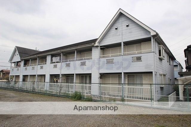 埼玉県坂戸市、一本松駅徒歩8分の築23年 2階建の賃貸アパート