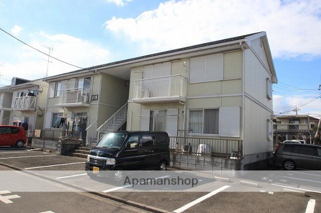 埼玉県川越市、的場駅徒歩25分の築25年 2階建の賃貸アパート