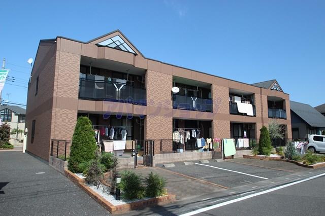 埼玉県坂戸市、坂戸駅徒歩43分の築10年 2階建の賃貸アパート