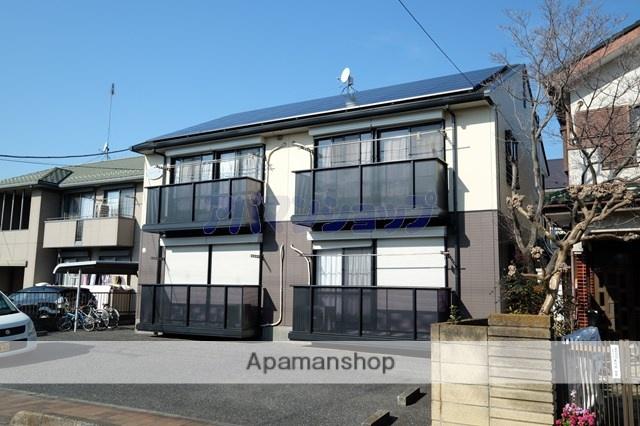 埼玉県坂戸市、若葉駅徒歩40分の築22年 2階建の賃貸アパート