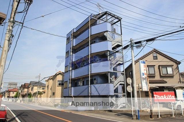 埼玉県坂戸市、北坂戸駅徒歩15分の築24年 4階建の賃貸マンション