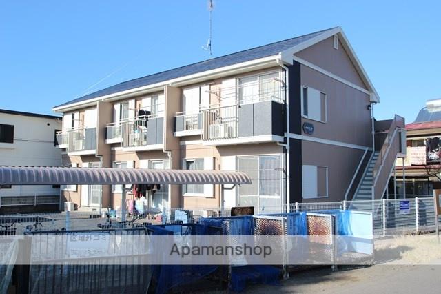 埼玉県川越市、西川越駅徒歩23分の築22年 2階建の賃貸アパート
