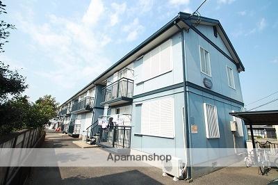 埼玉県川越市、的場駅徒歩30分の築25年 2階建の賃貸アパート